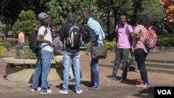 在巴西利亞大學就讀的非洲留學生
