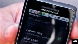 Cell phone alerts were used to track down a suspect in the New York and New Jersey bombings.