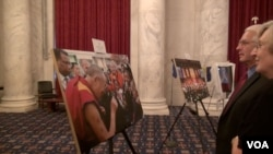A Special Photo Exhibition on the Dalai Lama at Senate Building on July 7, 2015