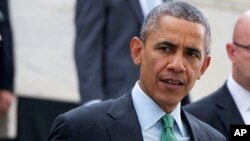 Le président Barack Obama le 17 mars 2015.
