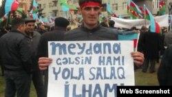 Mirağa Abbasov (Foto Mirağa Abbasovun Facebook səhifəsindən götürülüb)