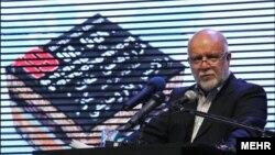 سخنرانی بیژن نامدار زنگنه وزیر نفت ایران در افتتاحیه نوزدهمین نمایشگاه نفت و گاز تهران