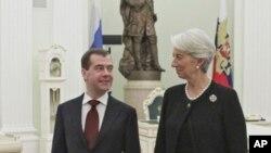 Η Κριστίν Λαγκάρντ συστήνει μεταρρυθμίσεις της Ρωσικής οικονομίας