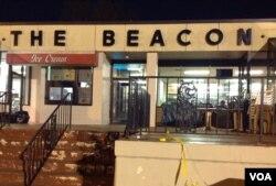 The Beacon餐馆。(美国之音 杨晨拍摄)