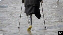 نزدیک به ۸۰۰ هزار نفر در افغانستان معلول یا معیوب است.