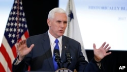 Vice President Mike Pence used a private AOL email account to conduct state business while he was Indiana's governor.