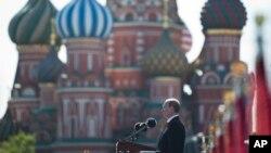 Владимир Путин, Красная площадь, Москва, 9 мая 2014г.