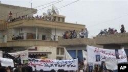 سهم اخوان المسلمین درتظاهرات سوریه