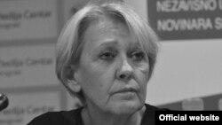 Gordana Suša, novinarka (Foto: Medijacentar Beograd)