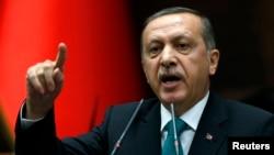 Turkiya bosh vaziri Rajab Toyib Erdog'an