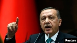 Thủ tướng Thổ Nhĩ Kỳ Recep Tayyip Erdogan.