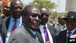 Le président zimbabwéen Robert Mugabe, 13 octobre 2011