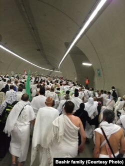 Faithful take part in the annual Hajj pilgrimage to Mecca, Saudi Arabia, in 2015.