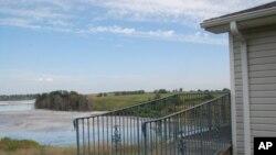 这个位于宾州的湖受到一个发电厂排放的废物的污染