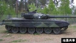 T-72主战坦克 (维基共享)