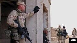 Бойцы американского спецназа на привале