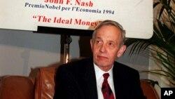 諾貝爾獎經濟學得主約翰納什。(資料照)