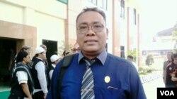 Budi Santosa, pengacara terdakwa (Foto: VOA/Nurhadi)