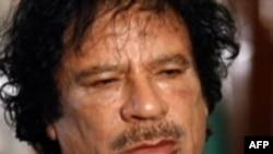 Ông Gadhafi mới đây cũng thoát chết trong một vụ không kích của NATO