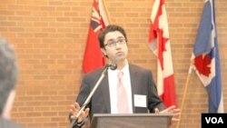 کاوه شهروز، معاون کنگره ایرانیان کانادا