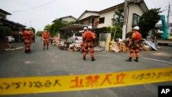 El temblor ocurrió en la madrugada de hoy a unos 10 kilómetros de profundidad, en la isla de Kyushu, prefectura de Kumamoto.