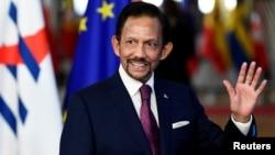 Brunei ႏိုင္ငံ Sultan ဘုရင္ Hassanal Bolkiah (ေအာက္တိုဘာ၊ ၁၈၊ ၂၀၁၈)
