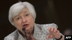 Direktur Bank Sentral AS Janet Yellen.