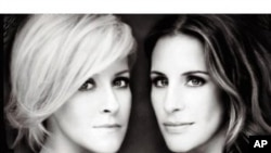 Two Dixie Chicks Form Court Yard Hounds