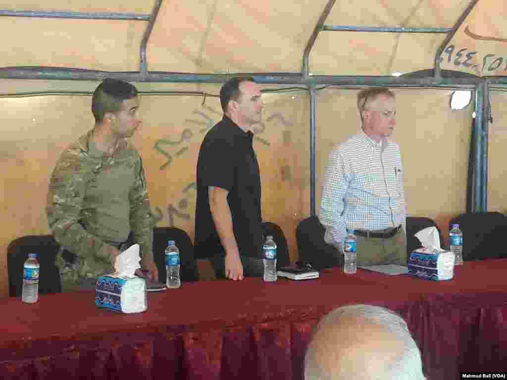 Mc Gurk in SDF Controlled Northern Syria