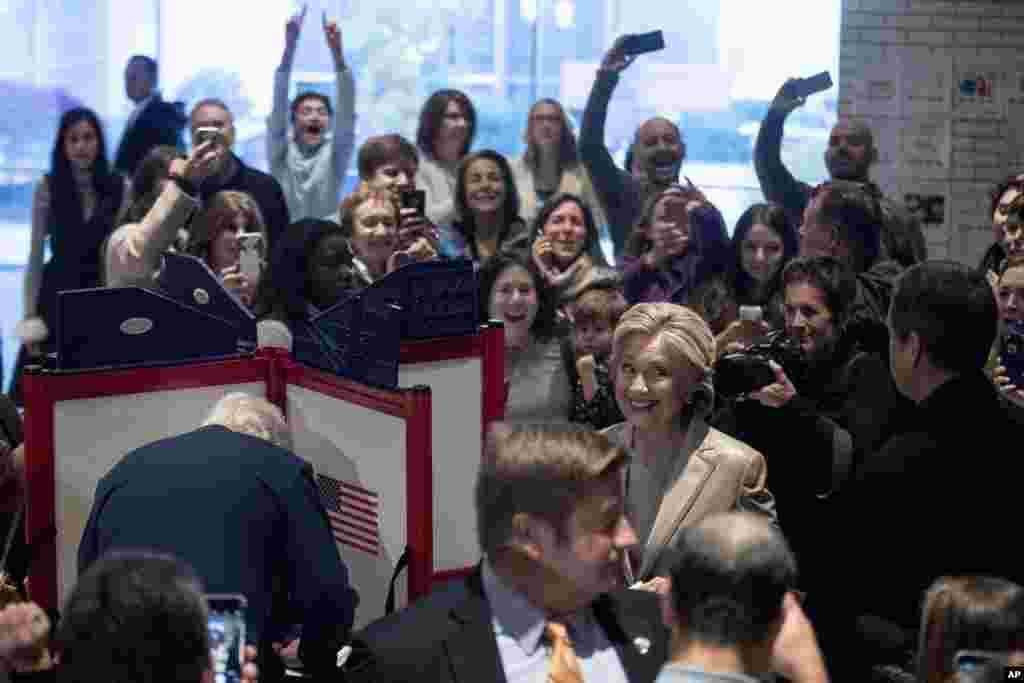 APTOPIX 2016 Election Clinton