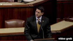 保羅瑞安在議事大廳就達拉斯槍擊事件發表講話