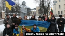 #Євромайдан підтримали у Литві. ФОТО