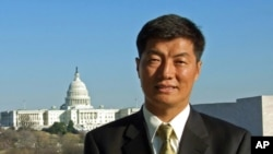Kalon Tripa-elect Dr. Lobsang Sangay.