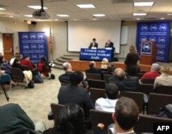 Vashingtondagi Jons Xopkins Universitetida forum, 22-fevral 2012