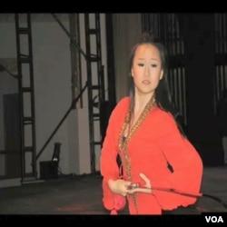 Olivia Yuanjie Zhang, ples mača zmajeve princeze