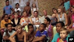 The documentary, 'Family Portrait in Black and White,' examines the plight of mixed-race children in Ukraine.