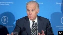 El vicepresidente de EE.UU., Joe Biden, se sumó de lleno a la lucha contra el cáncer tras la muerte de su hijo debido a un cáncer cerebral.