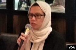 Koordinator KontraS, Yati Andriyani. (Foto: VOA/Fathiyah)