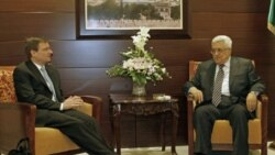 گفتگوی محمود عباس با فرستاده ویژه آمریکا در خاورمیانه بر سر درخواست استقلال فلسطین از سازمان ملل، رام الله-۷ سپتامبر