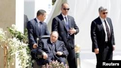 FILE - Algerian President Abdelaziz Bouteflika is seen in Algiers, Algeria, April 9, 2018.