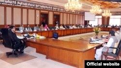 وزیراعظم راجہ پرویز اشرف کی زیر صدارت کابینہ کا اجلاس