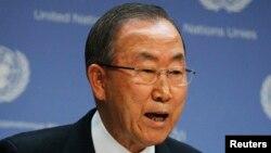 Ban Ki-moon a salué le rôle des forces onusiennes dans la défaite du M23