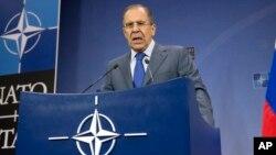 Ruski ministar inostranih poslova Sergej Lavrov na sastanku Saveta NATO - Rusija u Briselu 4. decembra 2013.