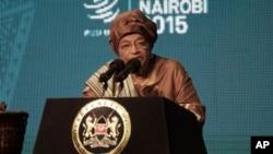 Tổng thống Liberia Ellen Johnson Sirleaf hứa củng cố hòa bình và an ninh, cũng như kêu gọi các nước thành viên làm việc tích cực hơn để đánh bại chủ nghĩa khủng bố.
