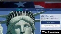 رعنا رحیمپور از طریق سامانه ESTA اقدام کرده بود. این سامانه اینترنتی برای دریافت اجازه ورود به آمریکا مورد استفاده قرار میگیرد.