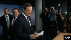 Thống đốc Ngân hàng Trung ương Châu Âu Mario Draghi