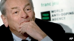 Dick Pound, former chairman of the World Anti-Doping Agency.