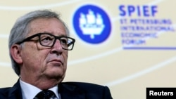 Lãnh đạo Ủy ban châu Âu Jean-Claude Juncker.