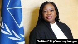 លោកស្រី Fatou Bensouda ជារដ្ឋអាជ្ញាមួយរូបនៃតុលាការព្រហ្មទណ្ឌអន្តរជាតិដែលហៅកាត់ថា ICC។
