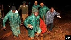 Abatabara batwaye uwapfuye mu masaha yo mugitondo kare ku musi wa kane, itariki 10/05/2018 yafi y'i Solai, mu ntara ya Rift Valley.